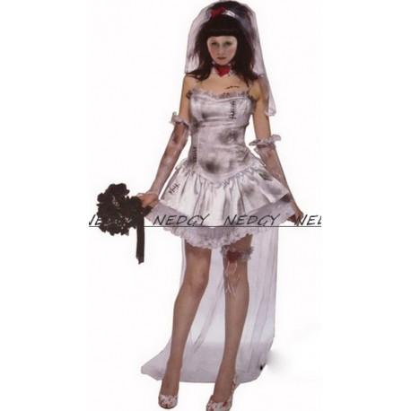 Deguisement Mariee Zombie