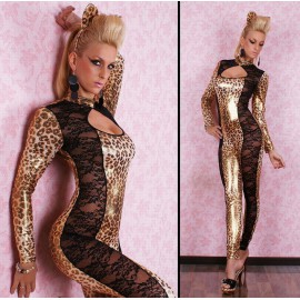 Catsuit Sexy Guepard