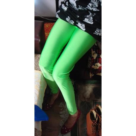 Leggings Vert Pomme