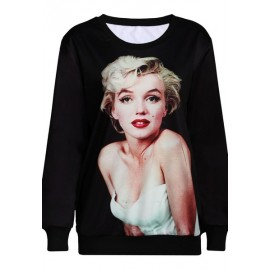 T-Shirt Manches Longues Marilyn Monroe