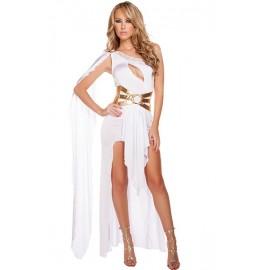 Déguisement déesse grecque robe blanche