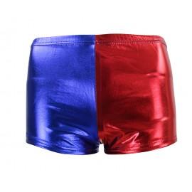 Short rouge et bleu Harley Quinn